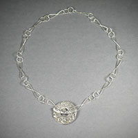 Sterling Silver Chain, with Saki Toggle 