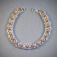 Sterling Silver & Copper Unparalleled Bracelet $89