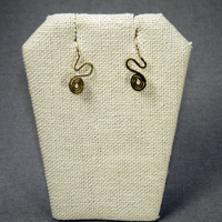 14K Gold Filled Swirl Earrings $18